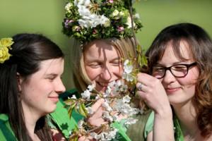 Neue Sächsische Blütenkönigin gewählt
